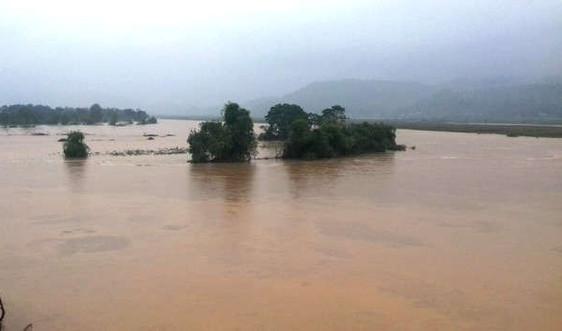 Cảnh báo lũ trên sông Thao và sạt lở đất ở khu vực vùng núi phía Bắc