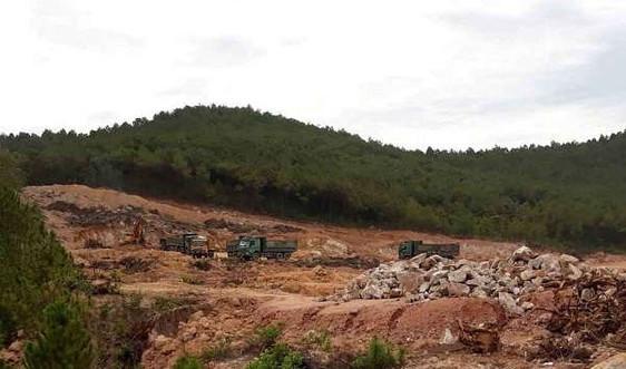 Nghệ An: Chọn được 12 điểm mỏ đất san lấp cho dự án đường cao tốc