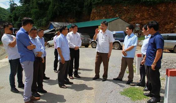 Sơn La khảo sát tình hình đầu tư các dự án thuỷ điện vừa và nhỏ
