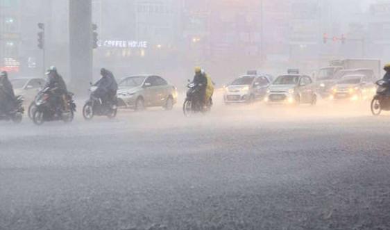 Cảnh báo dông, lốc, sét và gió giật mạnh ở Tây Nguyên, Nam Bộ, Khánh Hòa, Ninh Thuận, Bình Thuận