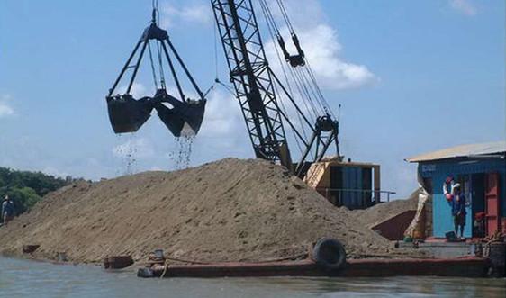 03 địa phương thống nhất chỉ đạo quản lý khai thác cát tại sông Đồng Nai