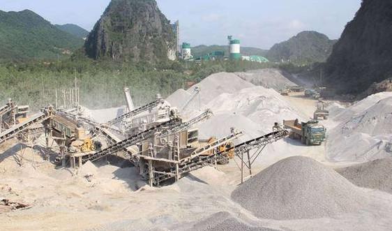 Điều kiện để khai thác khoáng sản làm vật liệu xây dựng thông thường