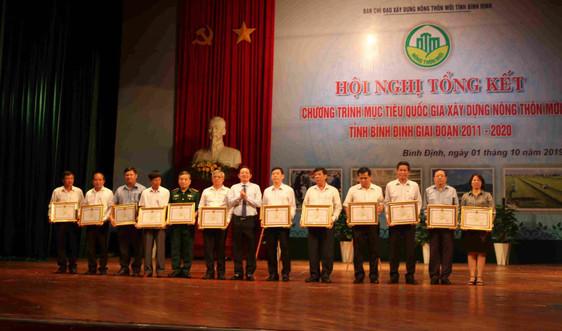 Giai đoạn 2011-2020 Bình Định có 77/121 xã đạt chuẩn nông thôn mới