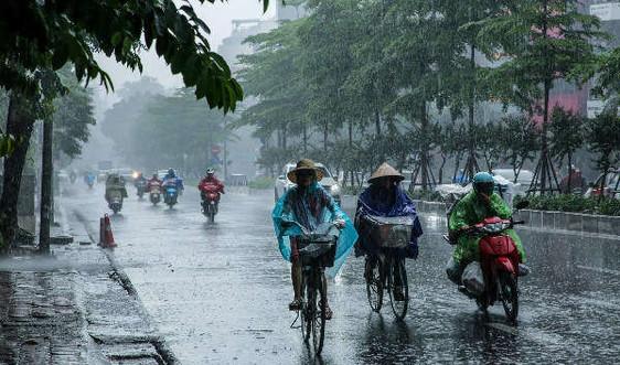 Bắc Bộ mưa dông, cảnh báo lốc, sét và gió giật mạnh