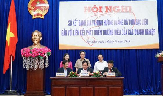 Tập đoàn Việt - Úc đồng hành cùng Bạc Liêu xây dựng thương hiệu tôm
