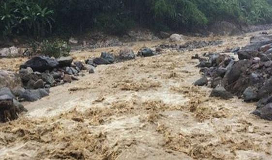 Cảnh báo lũ quét và sạt lở đất trên khu vực tỉnh Thái Nguyên, Tuyên Quang, Phú Thọ