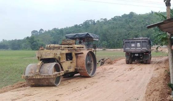 Hà Tĩnh: Cần làm rõ việc mỏ đất san lấp công trình Ngàn Trươi- Cẩm Trang khai thác, sử dụng sai mục đích