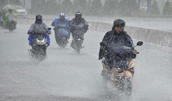 Thời tiết 26/10: Trung Bộ mưa to, khả năng xảy ra lốc, sét và gió giật mạnh