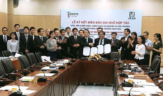 Viện Chiến lược Chính sách TN&MT hợp tác với Hiệp Hội đánh giá môi trường Nhật Bản
