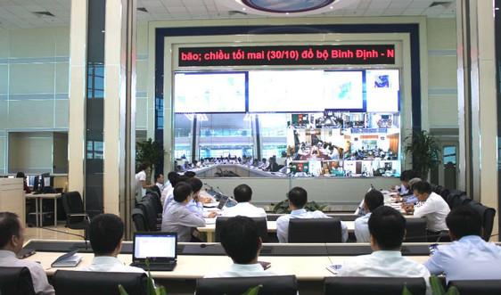 Ngành KTTV kịp thời cung cấp thông tin dự báo, cảnh báo diễn biến bão số 5