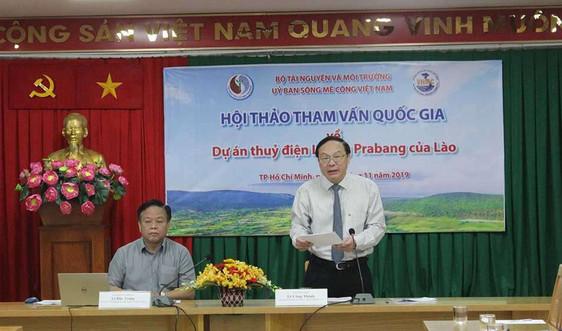 Tham vấn quốc gia về Dự án thuỷ điện dòng chính Luông Prabang của Lào