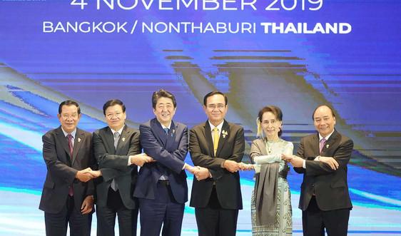 Nhật Bản ủng hộ lập trường của ASEAN về Biển Đông