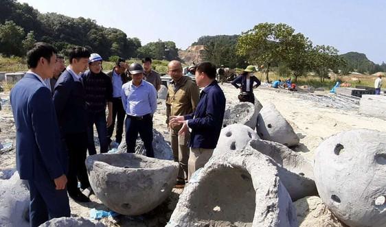 Tạo dựng gần 9.000 m2 bãi rạn san hô nhân tạo trên vùng biển Cô Tô