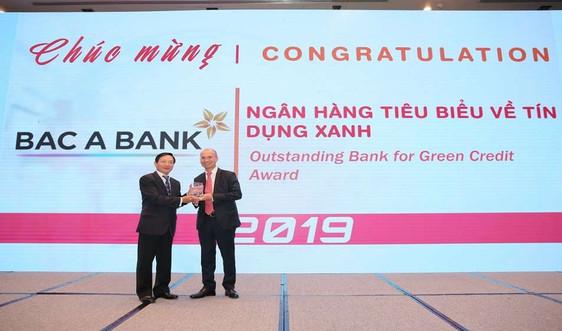 """Bắc Á Bank chính thức được vinh danh """"Ngân hàng tiêu biểu về tín dụng xanh"""""""