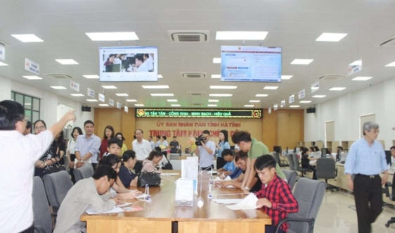 Hà Tĩnh: Bước đột phá trong cải cách hành chính lĩnh vực tài nguyên và môi trường