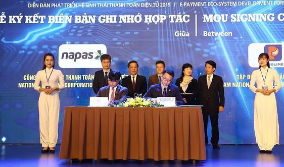Petrolimex và Napas hợp tác nâng cao tiện ích thanh toán không tiền mặt tại hệ thống CHXD