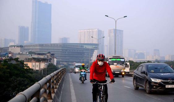 Chất lượng không khí tại Hà Nội ở mức có hại cho sức khỏe