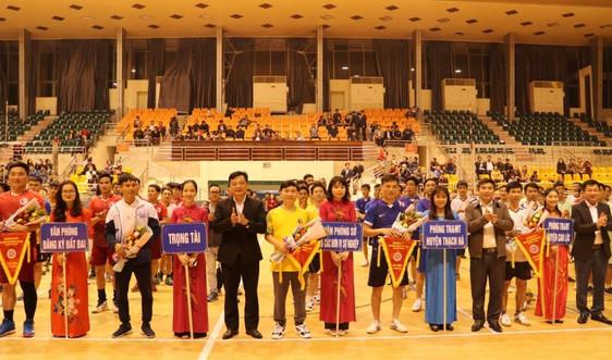 Hà Tĩnh: Sôi nổi hoạt động thể thao chào mừng 60 năm ngày truyền thống Ngành Đo đạc- Bản đồ