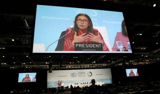 COP 25 kết thúc với kết quả hạn chế về các mục tiêu phát thải