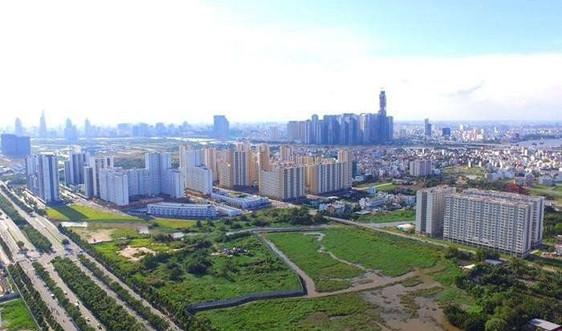 Tăng khung giá đất không tác động nhiều đến các dự án bất động sản