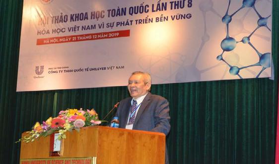 Hóa học Việt Nam vì sự phát triển bền vững