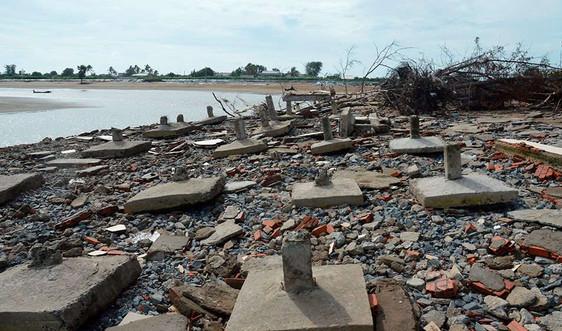 Bến Tre: Trên 63 tỷ đồng bảo vệ bờ biển khu vực Cồn Bửng