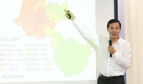 """PGS. TS Hồ Quốc Bằng: Kiểm kê phát thải khí thải là """"gốc rễ"""" của quản lý chất lượng không khí"""