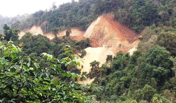 Điện Biên: Cần xử lý nghiêm việc đổ thải sai quy định trên tuyến Tà Lèng – Mường Phăng
