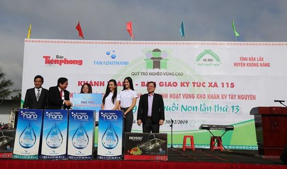 Cải thiện nước sinh hoạt cho hàng nghìn người dân ở các tỉnh Tây Nguyên