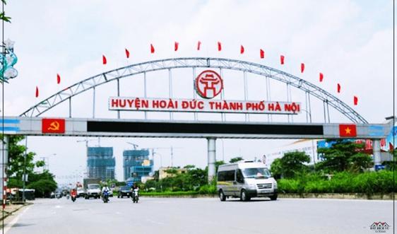 Hà Nội: Hoài Đức hoàn thiện các tiêu chí để lên quận
