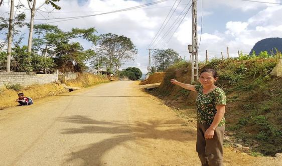 Chuyện người dân hiến hơn 1.000 m² đất mở đường ở vùng núi xứ Thanh