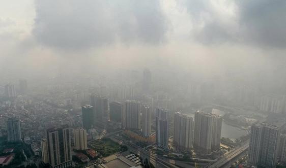 Hà Nội: Ngày 13/1, chỉ số chất lượng không khí đa phần ở mức kém