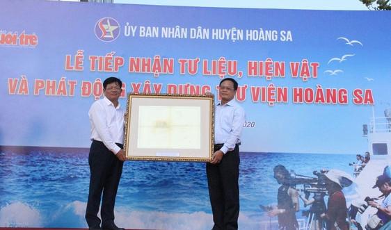 Góp tư liệu chủ quyền của Việt Nam đối với quần đảo Hoàng Sa