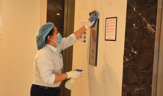 Bộ Xây dựng yêu cầu khử trùng phòng dịch tại các tòa nhà chung cư