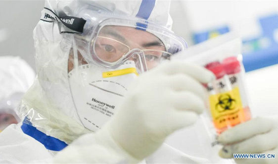 Phòng thí nghiệm ở Vũ Hán tiến hành dịch vụ phát hiện không ngừng