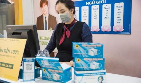 Vinatex cung ứng khẩu trang cho thị trường ngày càng lớn