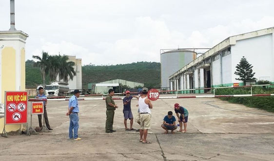 Nhà máy cồn Đại Tân được hoạt động trở lại sau 6 tháng ngừng hoạt động