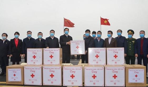 Quảng Ninh hỗ trợ tỉnh Quảng Tây (Trung Quốc) phòng, chống dịch Covid-19