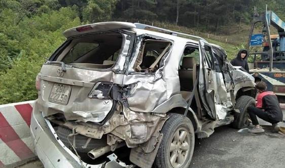 Sơn La: Tai nạn giao thông liên hoàn làm 4 người bị thương