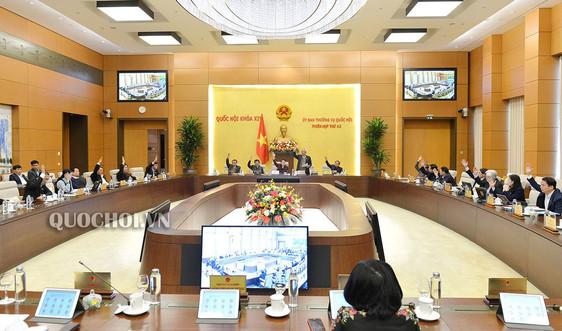 Ủy ban Thường vụ Quốc hội ra Nghị quyết sáp nhập huyện, xã tại 6 tỉnh, thành phố