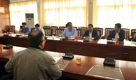 Thứ trưởng Lê Minh Ngân tiếp công dân định kỳ tháng 2/2020