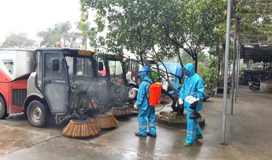 Chuyện bảo vệ công nhân môi trường thời dịch