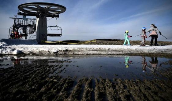Châu Âu trải qua mùa đông nóng nhất lịch sử