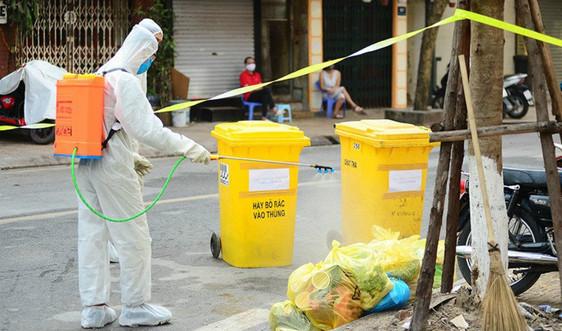 Hà Nội: Rác thải khu vực cách ly được xử lý theo quy trình xử lý rác thải y tế