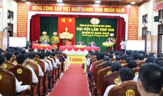 Ông Hồ Huy Thành tái đắc cử Bí thư Đảng bộ Sở Tài nguyên và Môi trường Hà Tĩnh