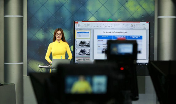 Phòng, chống Covid-19: Bộ GDĐT yêu cầu tăng cường dạy học qua internet, trên truyền hình