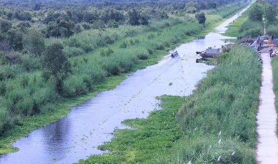 Thực hiện Nghị quyết 120/NQ-CP:Cần mở rộng không gian chứa nước ngọt ở vùng giáp mặn