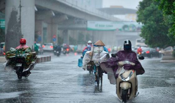 Dự báo thời tiết ngày 18/3: Khu vực Hà Nội có mưa rào và dông