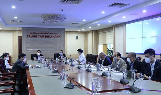 Bộ trưởng Trần Hồng Hà làm việc trực tuyến với Tổng cục Biển và Hải đảo Việt Nam