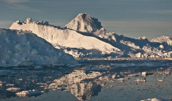 Băng tan ở Greenland làm mực nước biển toàn cầu tăng 2,2mm trong hai tháng